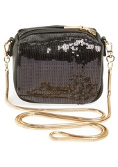 French Connection 'Mini Sequin' Crossbody