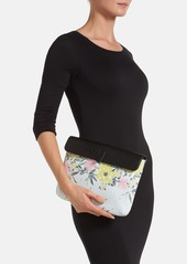 French Connection 'Oversize Big Stuff' Faux Leather Clutch