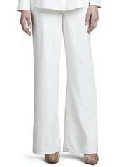Go Silk Wide-Leg Silk Pants