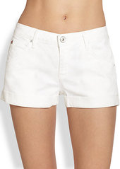 Hudson Hampton Denim Cuff Shorts
