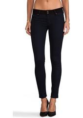 Hudson Jeans Collin Skinny in Blue Black