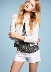 Hudson Jeans 'Hampton' Cuff Jean Shorts (White)