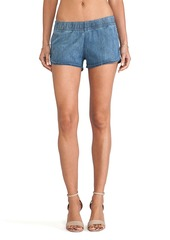 Hudson Jeans Siouxsie Dolphin Short in Blue