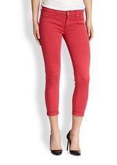 Hudson NIco Cropped Super-Skinny Jeans
