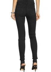 J Brand 620 Power Stretch vinyl-paneled skinny jeans
