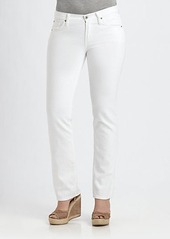 James Jeans, Sizes 14-24 High-Rise Straight-Leg Jeans