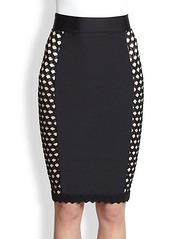 Jean Paul Gaultier Side-Panel Pencil Skirt