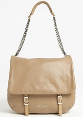 Jimmy Choo 'Becka Biker - Large' Leather Shoulder Bag