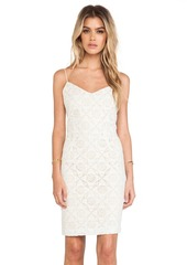 Joie Orchard B Crocheted Dress in Ivory