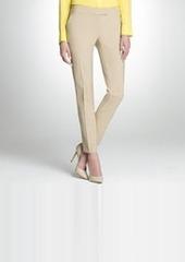 Washable Wool Skinny Pants