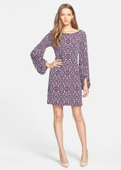 Laundry by Shelli Segal Blouson Sleeve Print Jersey Dress