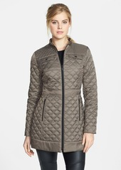 Laundry by Shelli Segal Packable Quilted Walking Coat (Regular & Petite)