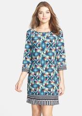 Laundry by Shelli Segal Print Jersey Shift Dress