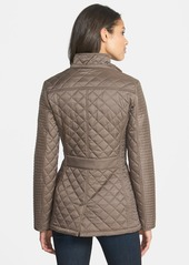 Laundry by Shelli Segal Quilted Jacket with Removable Hood (Regular & Petite)