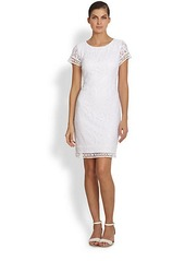 Laundry by Shelli Segal Rosebud Lace Dress