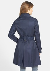 Laundry by Shelli Segal Skirted Trench Coat