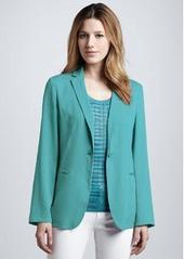 M Missoni Silk One-Button Jacket