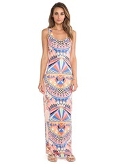 Mara Hoffman Fitted Tank Dress in Pink