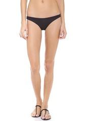 Mara Hoffman Ruched Brazilian Bikini Bottoms