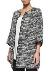 Marina Rinaldi Cavo 3/4-Sleeve Long Jacket, Women's
