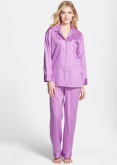 Natori Piped Cotton Sateen Pajamas
