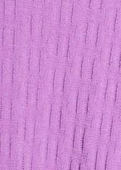 Natori 'Truffle' Basket Weave Chenille Robe