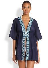 Shoshanna Maine Embroidered Tunic