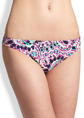 Shoshanna Pampelone Paisley Brief