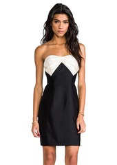 Shoshanna Stella Dress in Black
