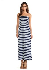 Susana Monaco Maxi Tube Dress in Gray