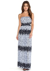 T-Bags LosAngeles Strapless Maxi Dress in Purple