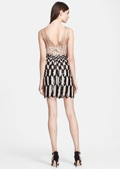Tracy Reese Zigzag Sequin Dress
