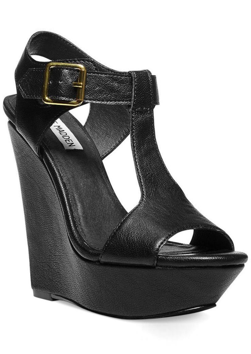 Steve Madden Women's Arkadia Platform Wedge Sandals