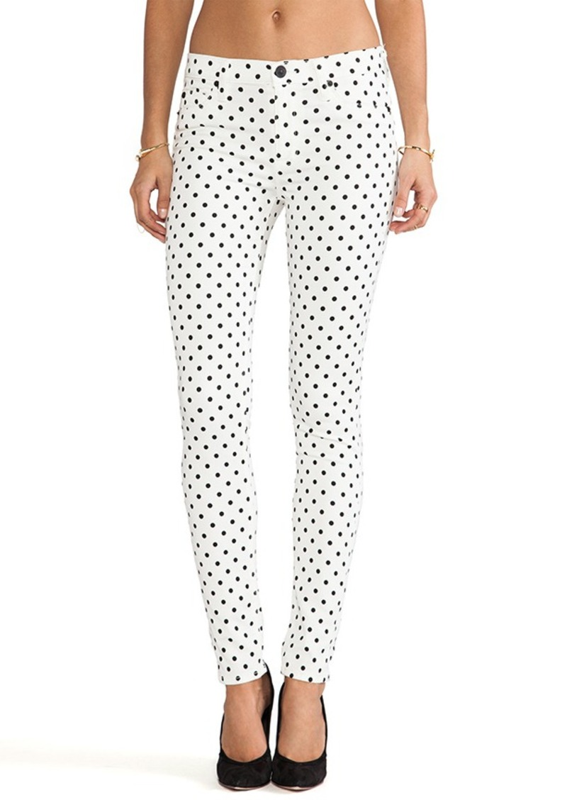 Hudson Jeans Nico Skinny in Cloud Nine Dot