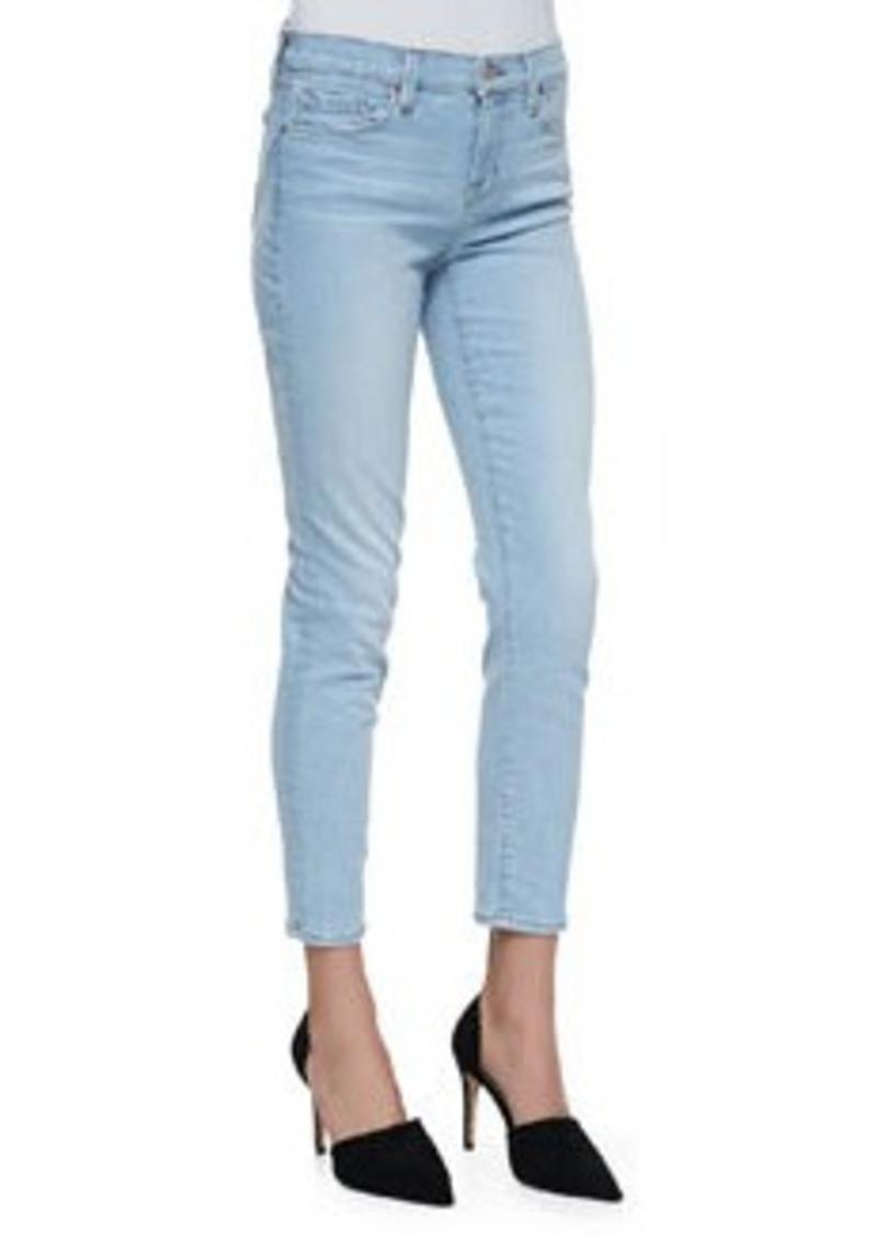 J Brand Mid-Rise Capri Jeans, Even Tide   Mid-Rise Capri Jeans, Even Tide