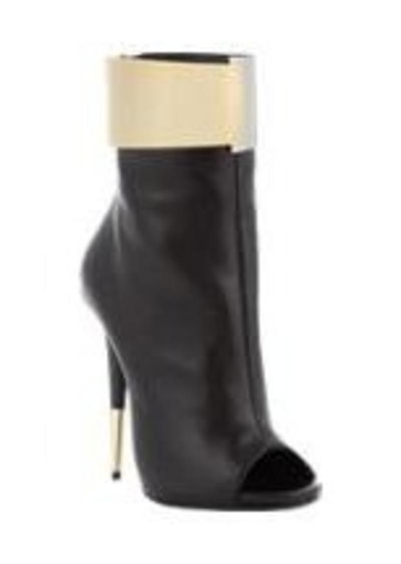 Giuseppe Zanotti Metal-Cuff Ankle Boots