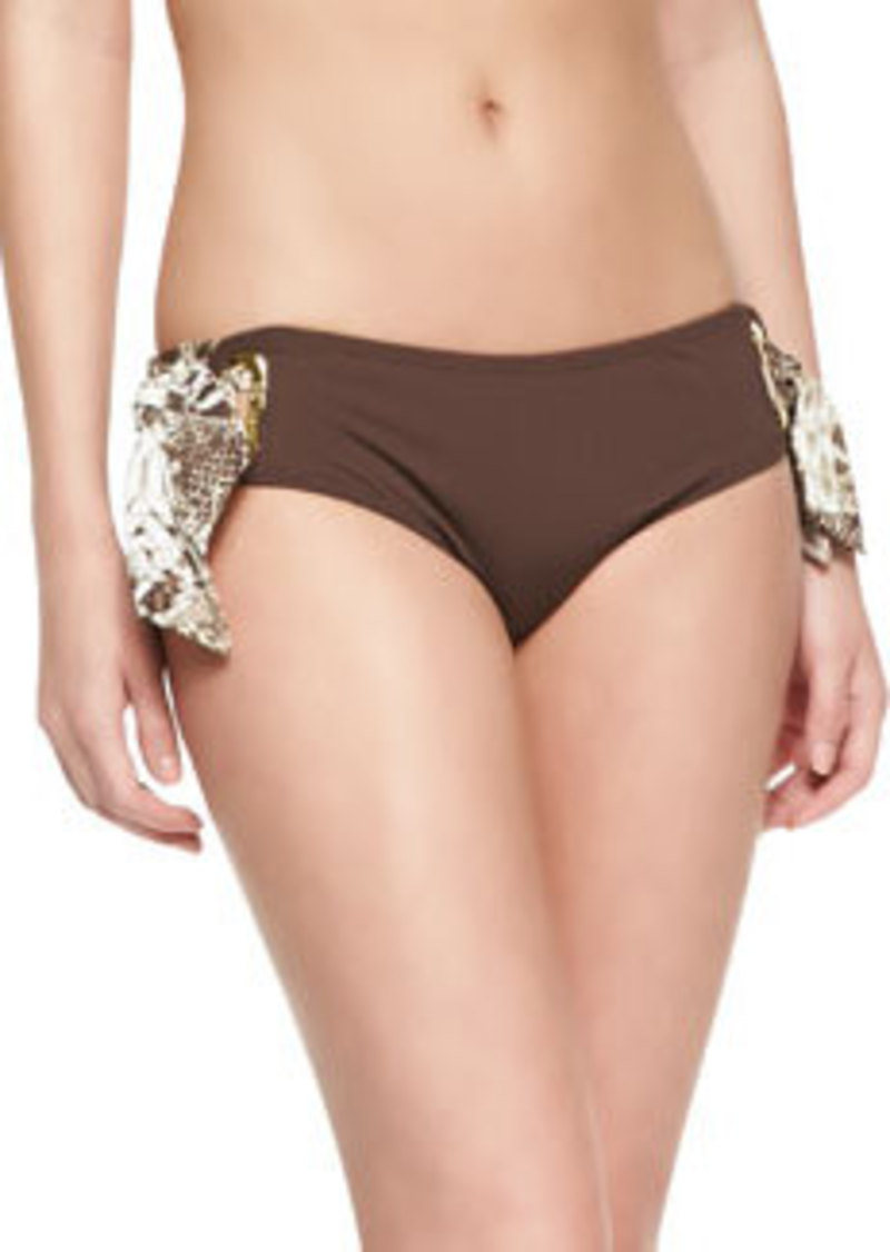 MICHAEL Michael Kors Tie-Side Hipster Swim Bottom
