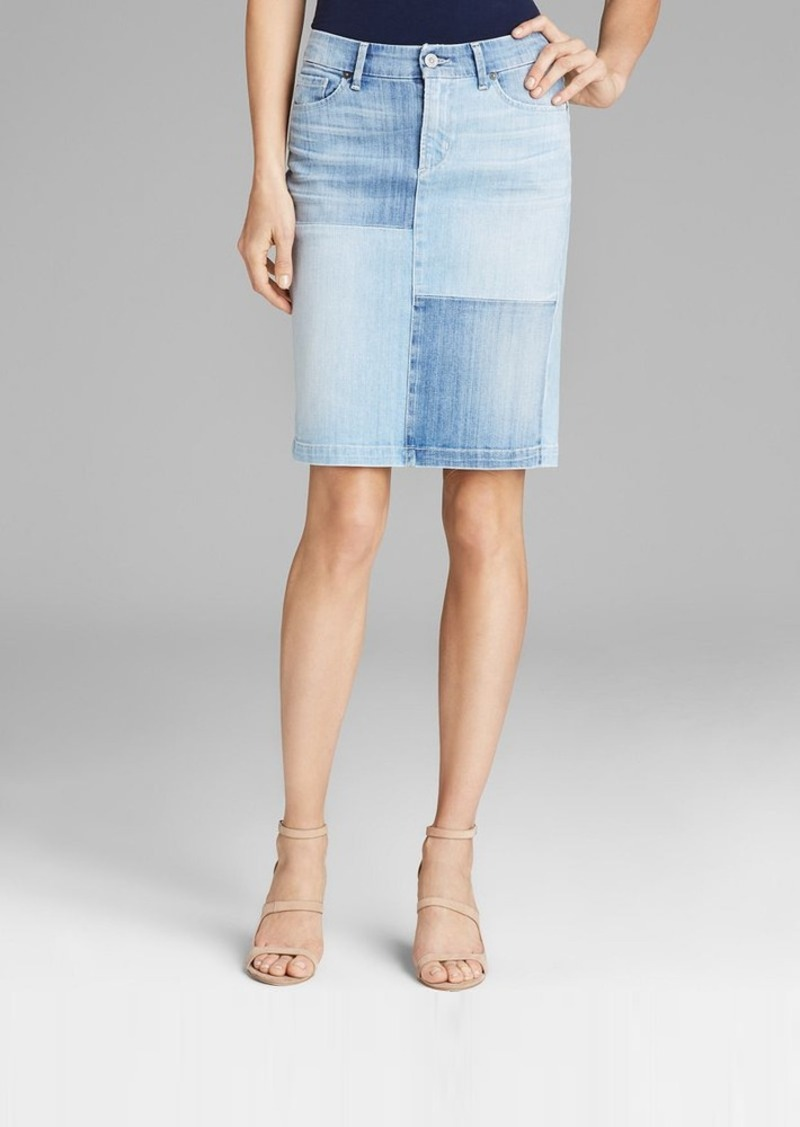 Citizens of Humanity Pencil Skirt - Patchwork in Bauhaus