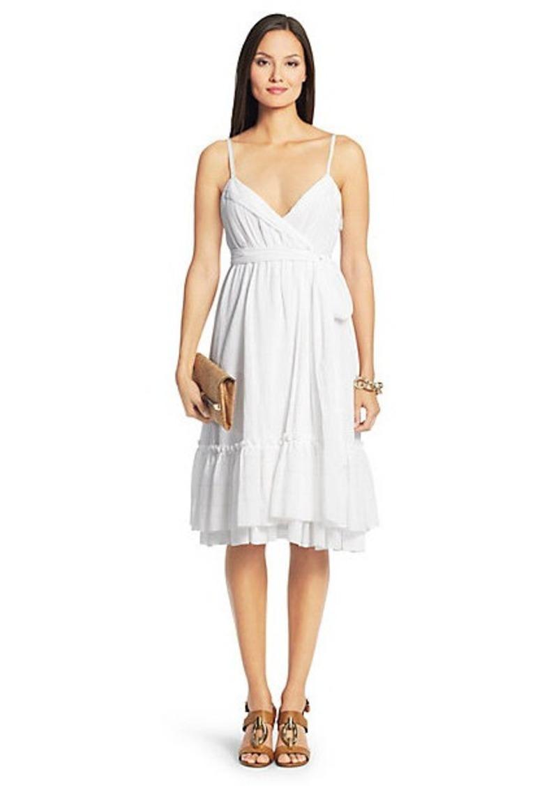 Diane Von Furstenberg Queenie Cotton Tier Dress