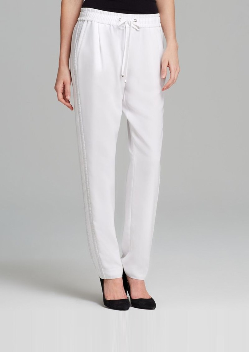 Calvin Klein Mesh Stripe Pants