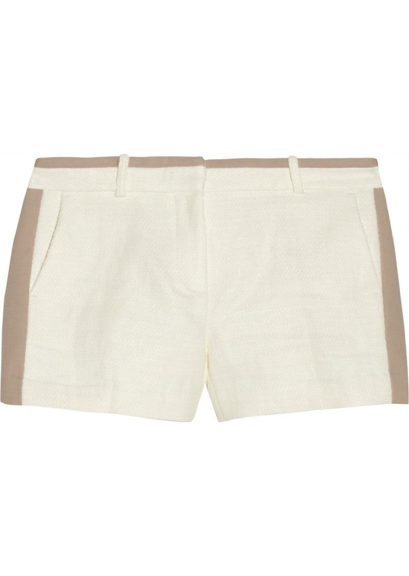 MICHAEL Michael Kors Two-tone woven shorts