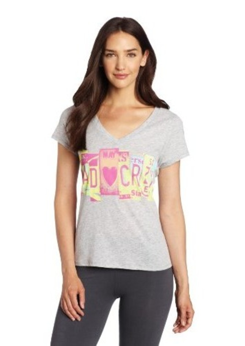Steve Madden Women's Fitted Lounge Tee
