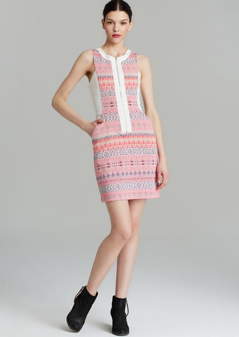 Ella Moss Dress - Paz Embroidered