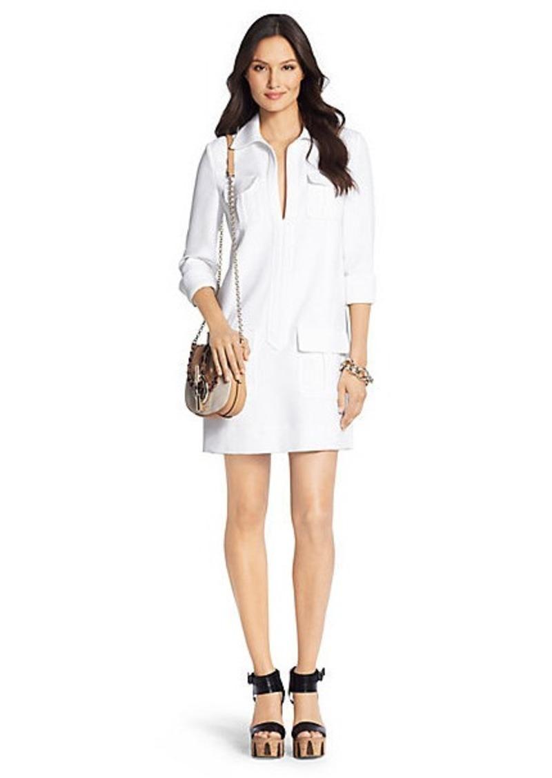 Diane Von Furstenberg Dilly Ceramic Tunic Dress