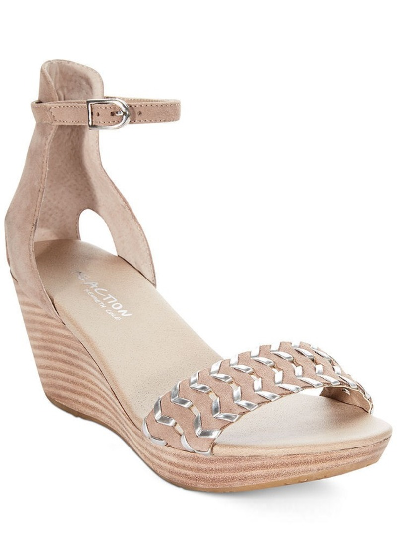 Kenneth Cole Reaction Pop Music Platform Wedge Sandals
