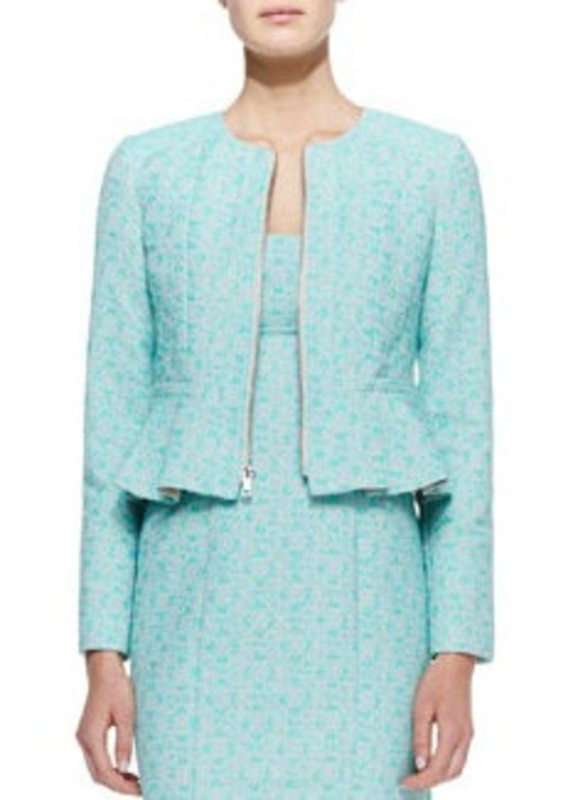 Nanette Lepore Crazy For You Zip-Front Jacket