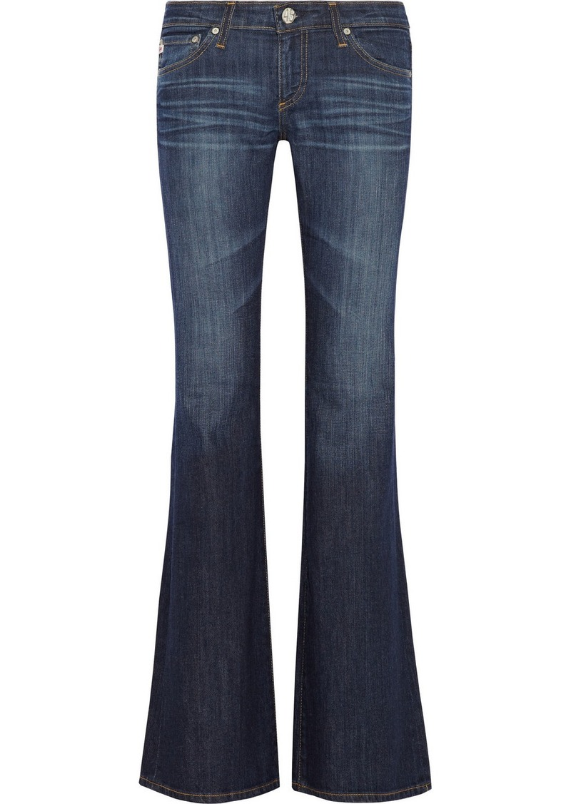 AG Jeans Belle low-rise flared jeans