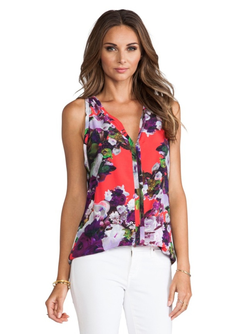 Nanette Lepore Crazy For You Top in Purple