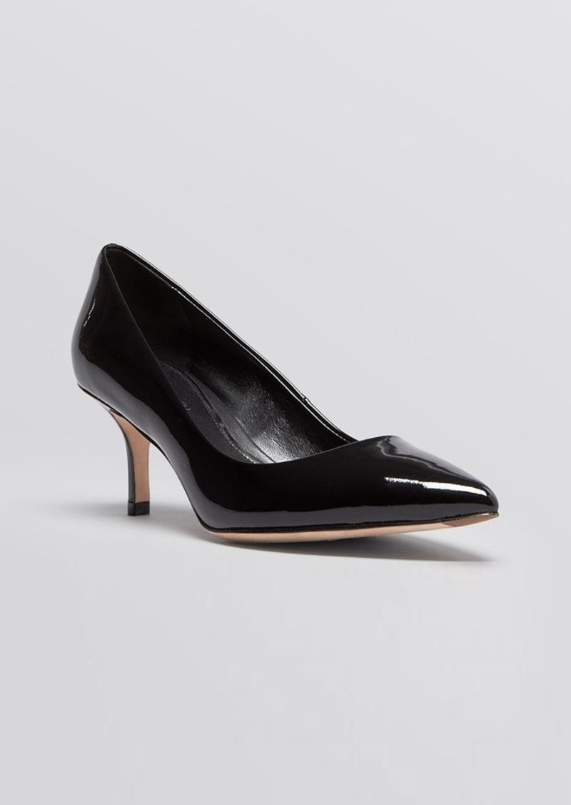 Elie Tahari Pointed Toe Pumps - Electra