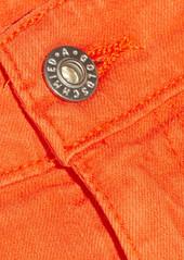 AG Adriano Goldschmied AG Jeans Mary Jane cut-off stretch-denim shorts